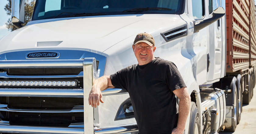 livestock truckie