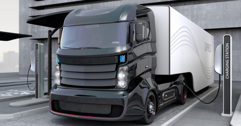 electric truck charge
