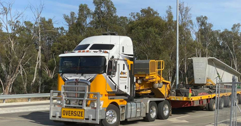 Joey-Blow-shared-this-pic-of-a-Big-Hill-Cranes-and-Heavy-Haulage-K200-delivering-bridge-beams-for-the-Echuca-Moama-Bridge-Project